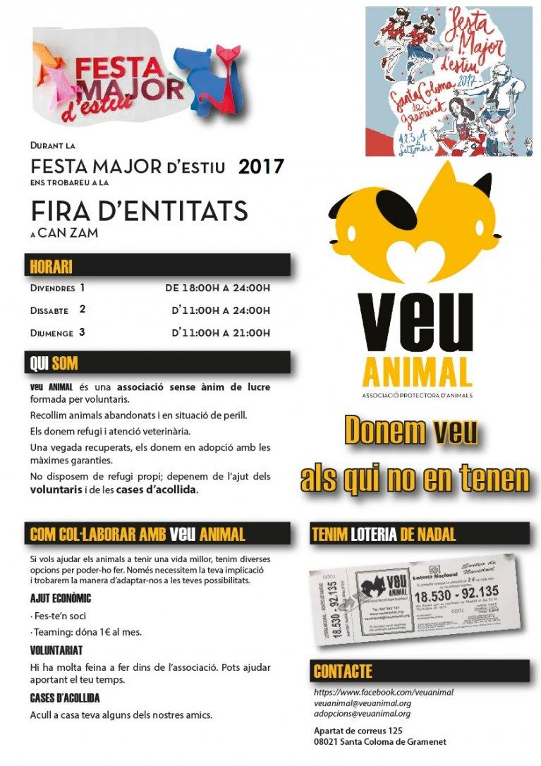FESTA MAJOR D´ESTIU 2017 A SANTA COLOMA DE GRAMENET