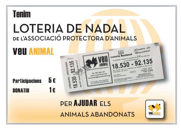 Lotería de Veu Animal